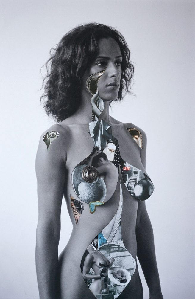 Mystification 2, Delphine Diallo, collage