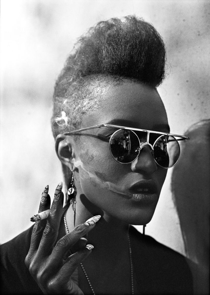 New York spirit, Delphine Diallo, photographie noir et blanc