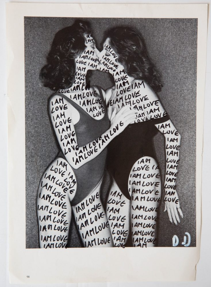 I am Love, Delphine Diallo, collage