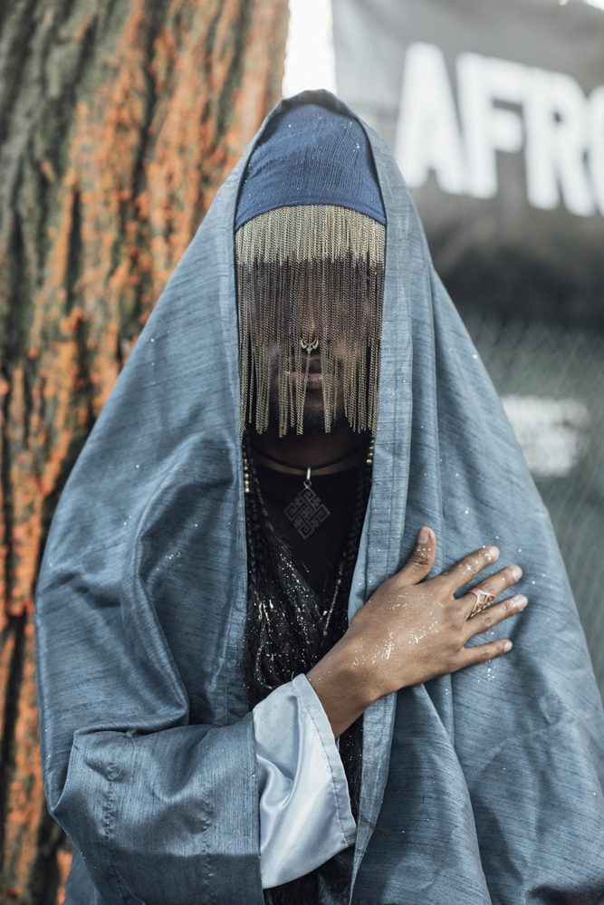 Afropunk – The Ehtiopian Priest, Delphine Diallo, photographie couleur