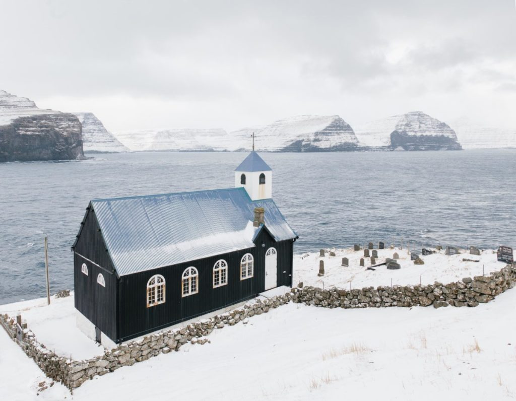 Church of Kirkja, Faroe Islands, 2015